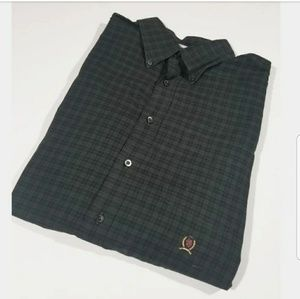 Tommy Hilfiger Long Sleeve Checkered Crest Shirt